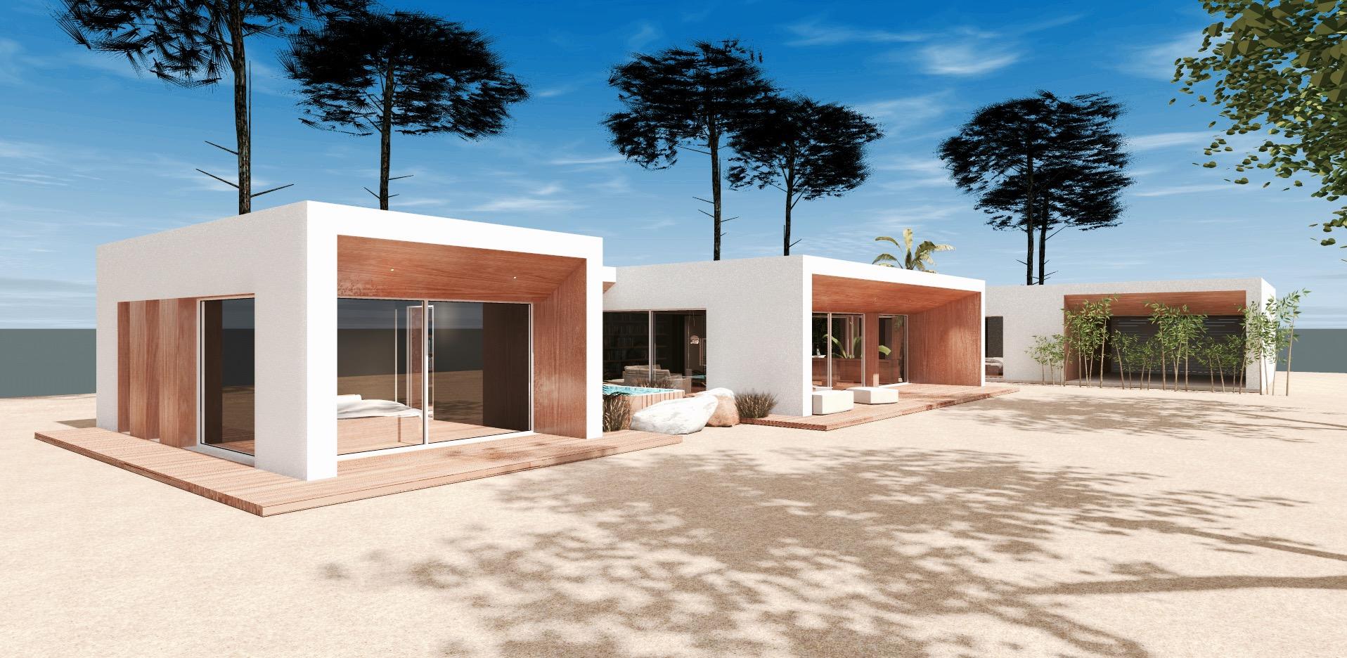 Construction D Une Maison D Architecture Moderne A Cazaux Construction De Maison De Prestige Sur Mesure A Arcachon Mcc Construction