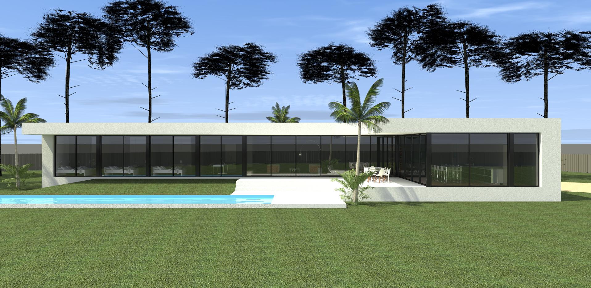 Construction D Une Maison Moderne Toit Plat Dans Les Landes Construction De Maison De Prestige Sur Mesure A Arcachon Mcc Construction